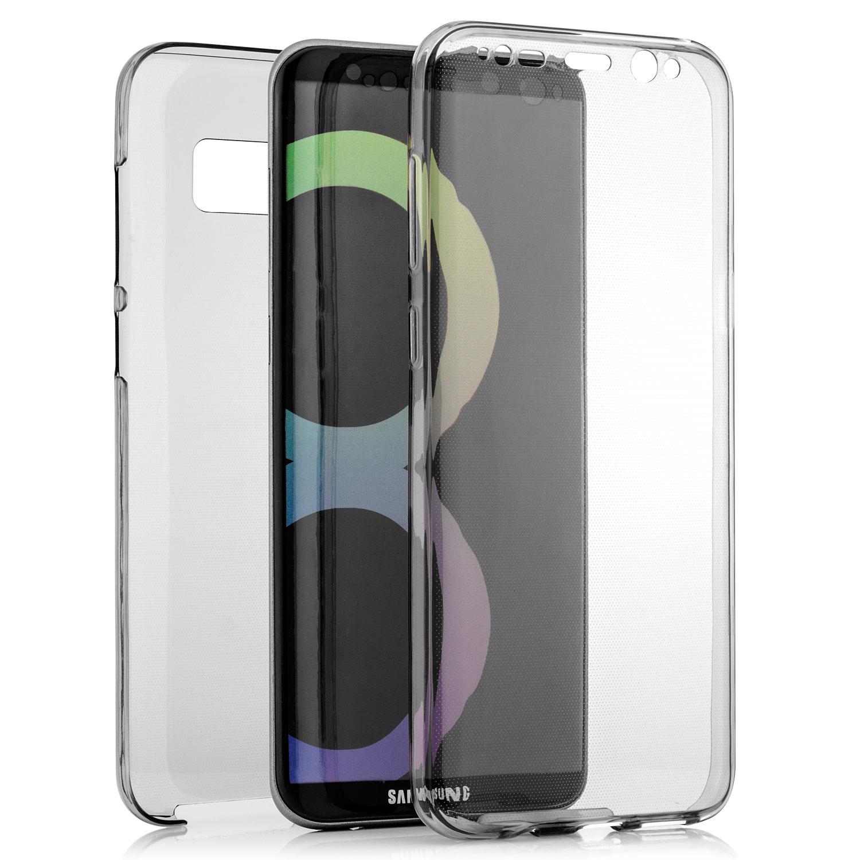 Komplett Silikon Case für Samsung Galaxy S8 Plus Grau Galaxy S8 Plus Samsung Handyhüllen