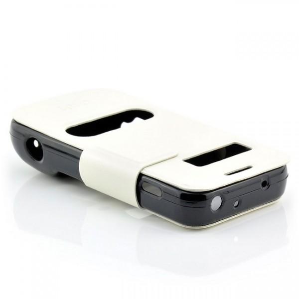 Schutz Tasche für Samsung Galaxy S4 Zoom Weiß