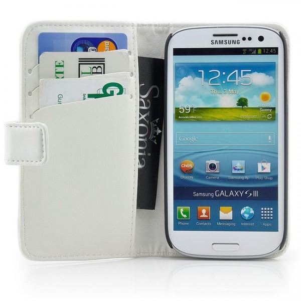 Smooth Skin Tasche für Samsung Galaxy S3 Weiß