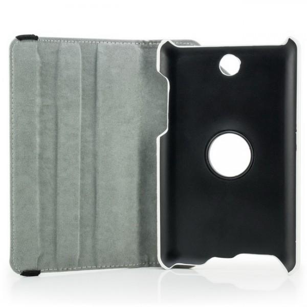 360° Tasche für Asus FonePad ME371 MG Weiß