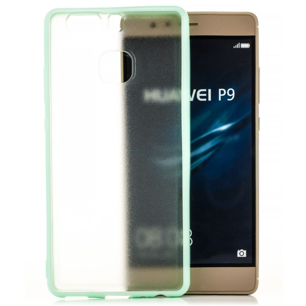 Hard-Soft Back Cover für Huawei P9 - Grün