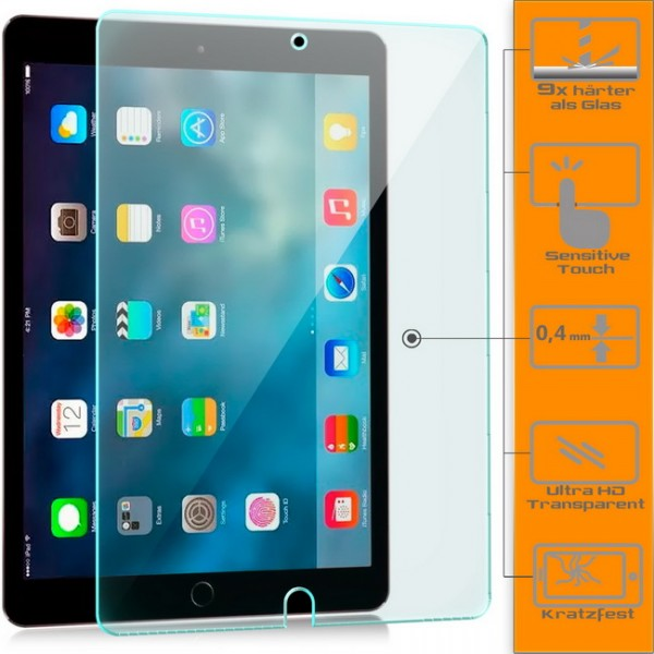 "2x Displayschutzglas für Apple iPad Pro (12,9"")"