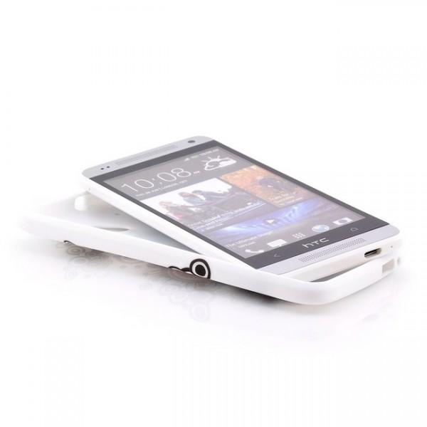 Herz Silikon Back Cover für HTC One Mini M4