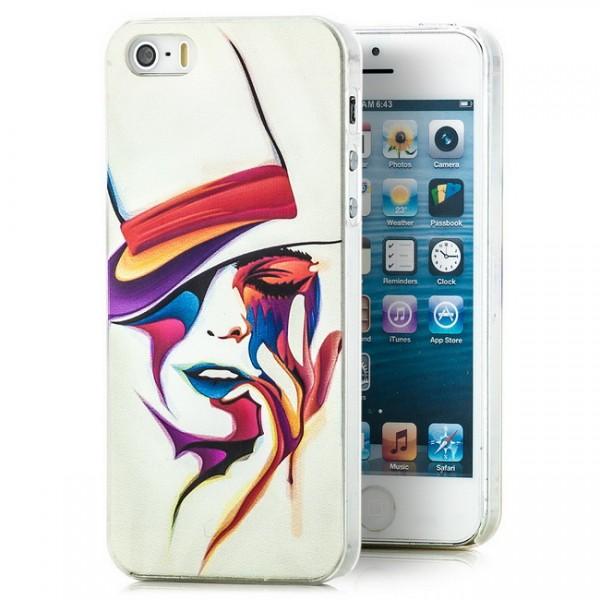 Varieté Hard Back Cover für Apple iPhone 5 & 5S
