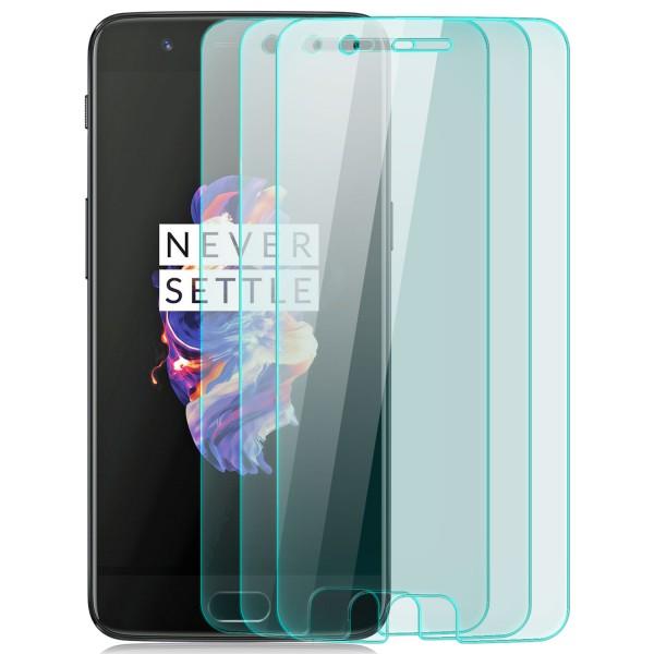 3x Displayschutzglas für OnePlus 5