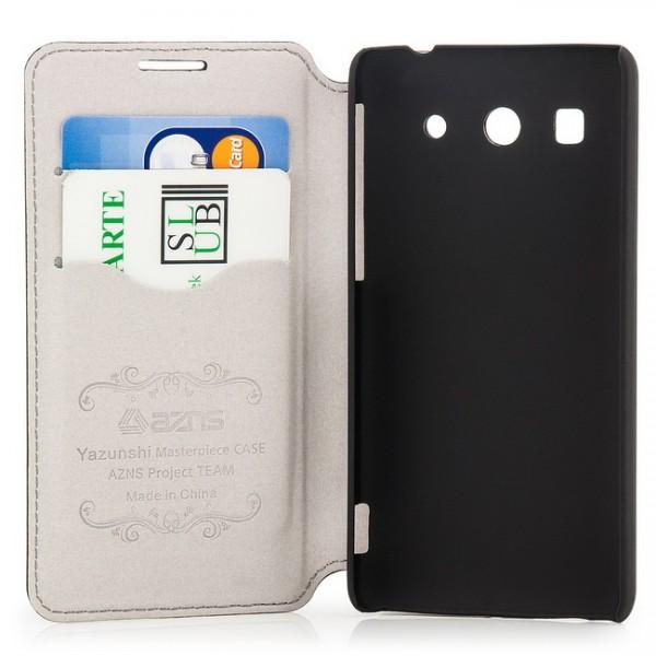 AZNS Flip Tasche für Huawei Ascend G520 G525 Schwarz