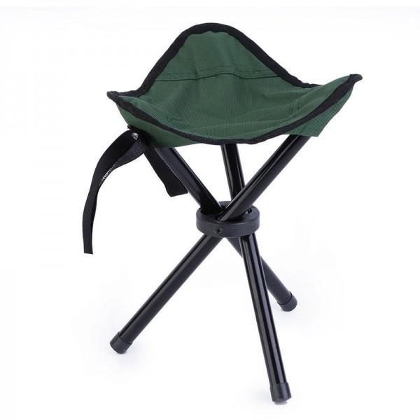 Faltbarer Camping Hocker - Grün