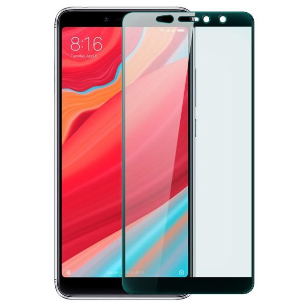 Full Cover Displayschutzglas für Xiaomi Redmi S2 - Schwarz