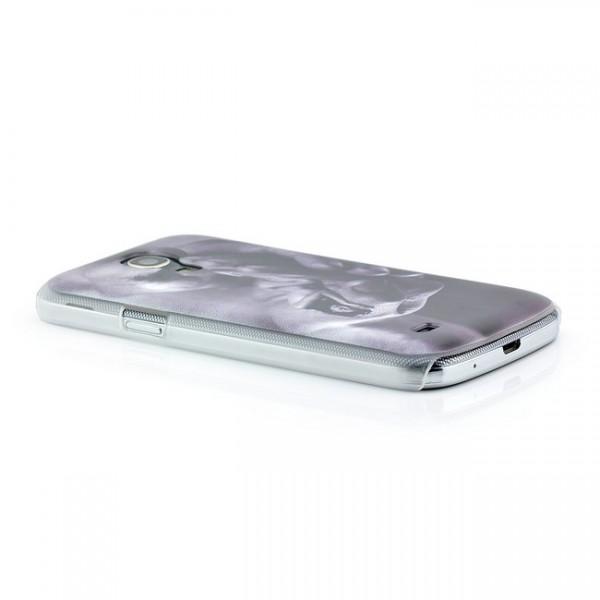 Women in Hands Hard Back Cover für Samsung Galaxy S4 Mini