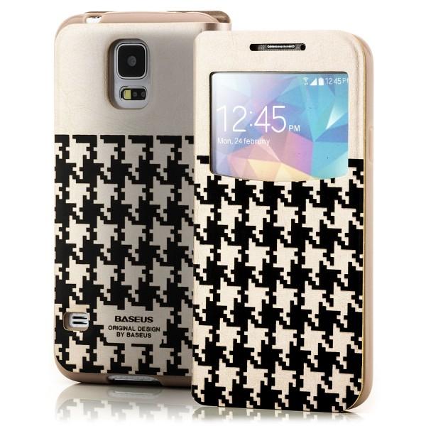 Baseus Flip Tasche für Samsung Galaxy S5 Grau