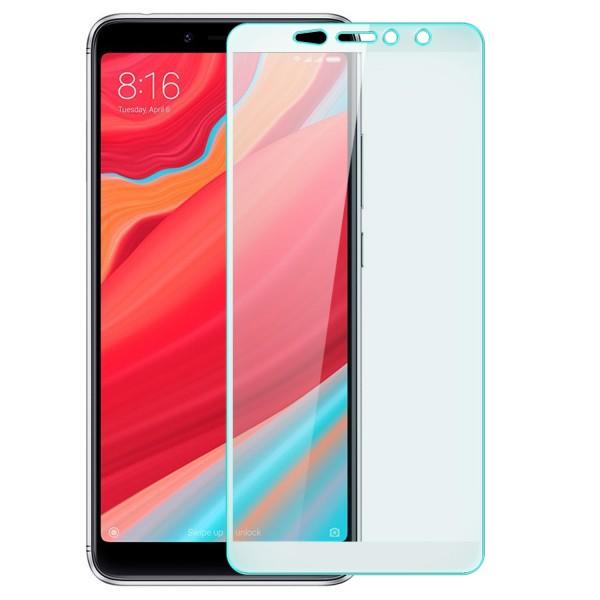 Full Cover Displayschutzglas für Xiaomi Redmi S2 - Weiß