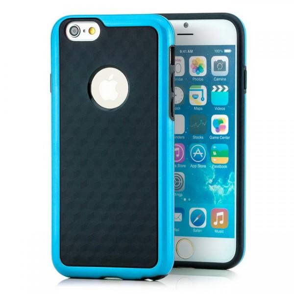 TPU Diamond Back Cover für Apple iPhone 6 & 6S (4,7) Blau -MF-