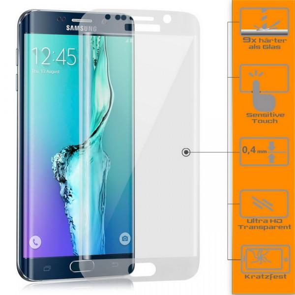 Curved Displayschutzglas für Samsung Galaxy S6 Edge Plus Transparent