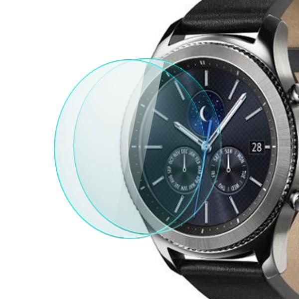 2x Displayschutzglas für Samsung Gear S3