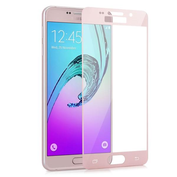 Full Displayschutzglas für Samsung Galaxy A3 (2016) - Rosa