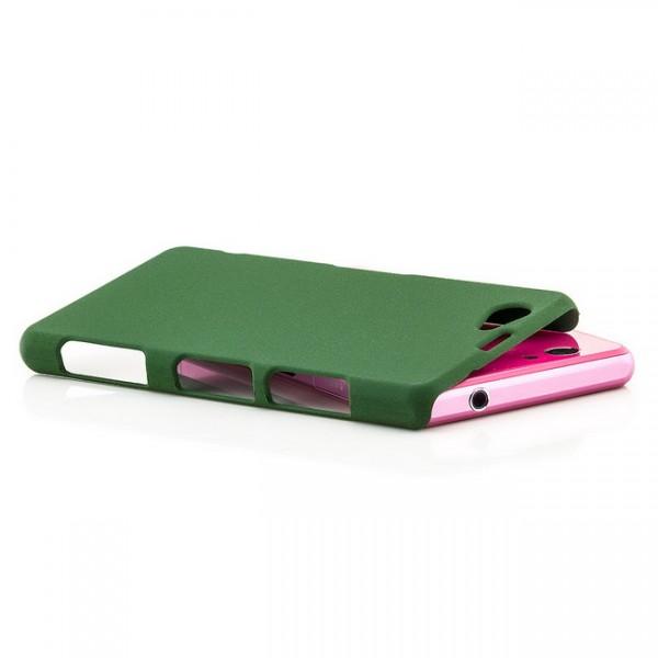 Hard Cover für Sony Xperia Z1 Compact Grün