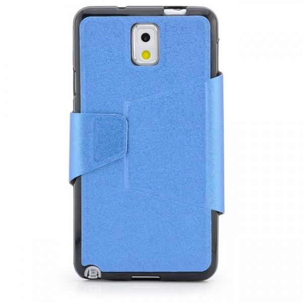 Cross Flip Tasche für Samsung Galaxy Note 3 Blau