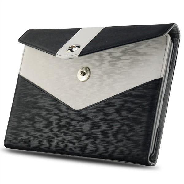 Dual Colours Tasche für Apple iPad Mini Schwarz-Weiß