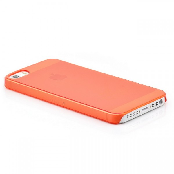 Ultra Slim Back Cover für Apple iPhone 5 & 5S Rot