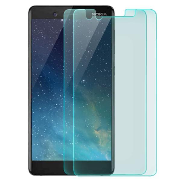 2x Displayschutzglas für Nokia 7