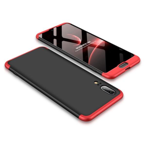 GKK Hülle für Huawei P20 - Schwarz-Rot