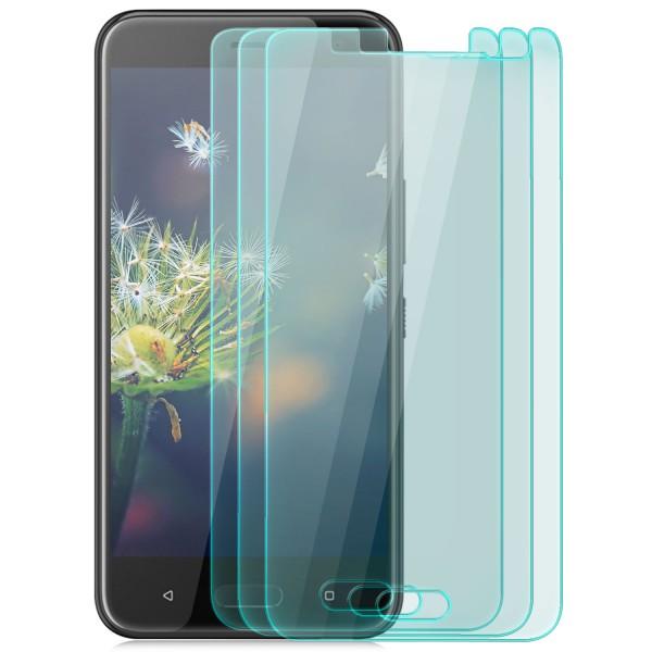 3x Displayschutzglas für HTC U11 Life