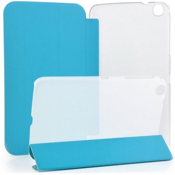 TPU Schutzhülle für Samsung Galaxy Tab 3 8.0 Transparent-Blau