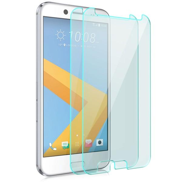 2x Displayschutzglas für HTC 10 EVO