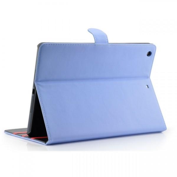 Deluxe Tablet Tasche für Apple iPad Air Blau