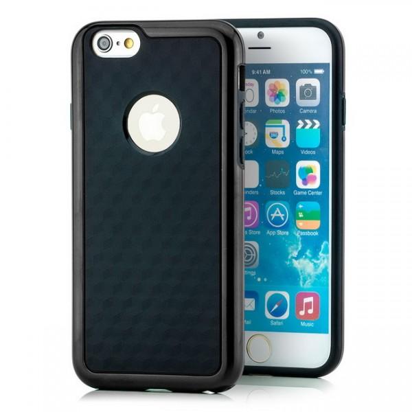 TPU Diamond Back Cover für Apple iPhone 6 & 6S (4,7) Schwarz -MF-