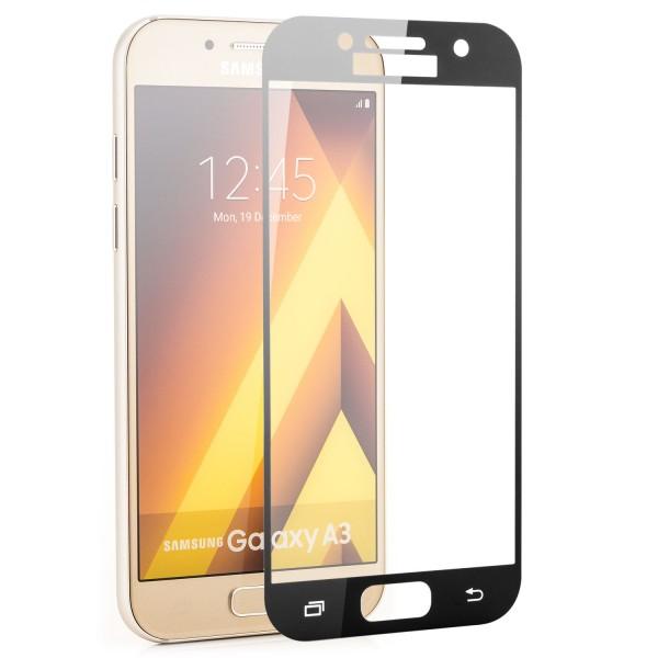 Full Displayschutzglas für Samsung Galaxy A5 (2017) - Schwarz