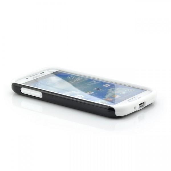 Combo Case für Samsung Galaxy S4 Schwarz-Weiß