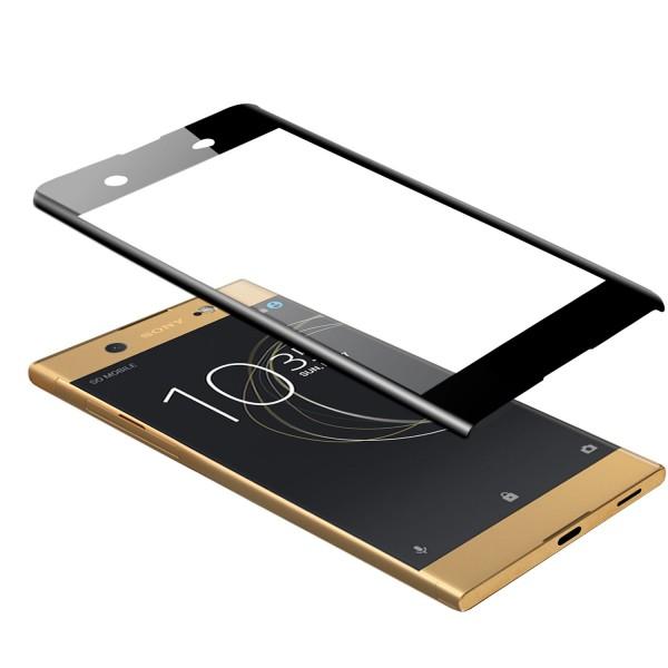 Curved Displayschutzglas für Sony Xperia XA1 Ultra - Schwarz