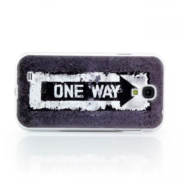 One Way Hard Back Cover für Samsung Galaxy S4
