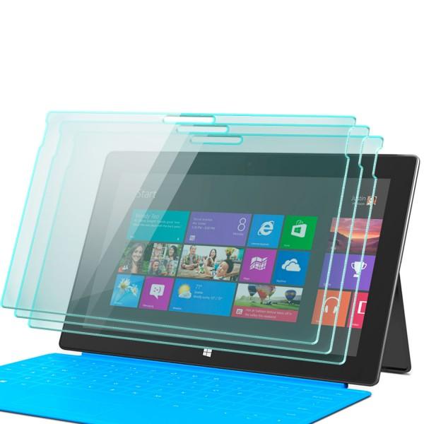 3x Displayschutzglas für Microsoft Surface Pro 4