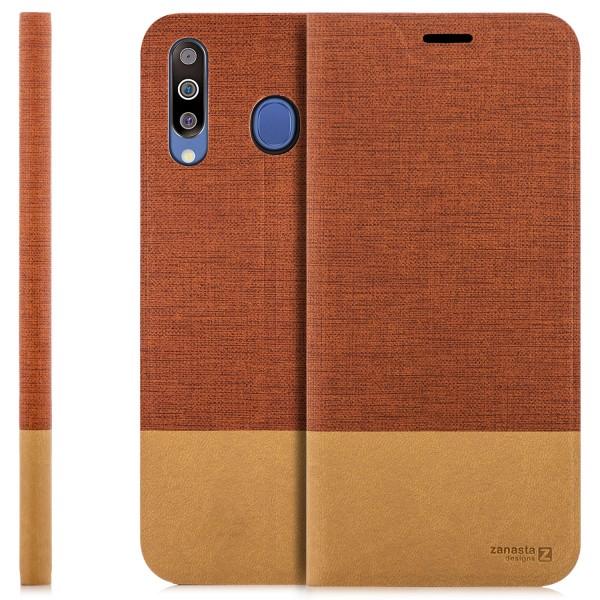 Kunstleder Slim Tasche für Samsung Galaxy M30