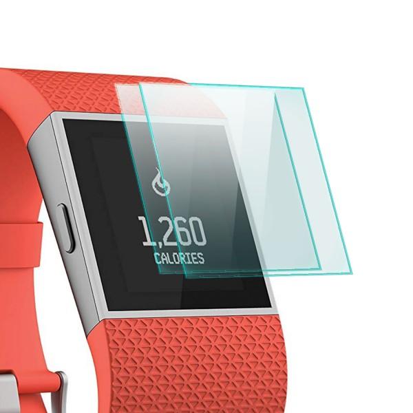 2x Displayschutzglas für Fitbit Surge