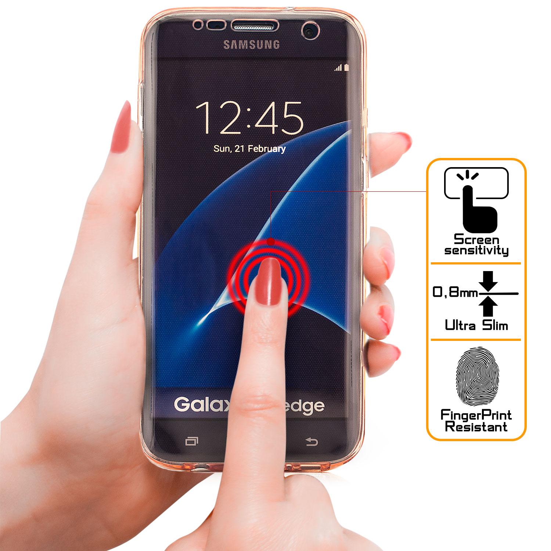 Komplett Silikon Case für Samsung Galaxy A3 2017 Rosa Galaxy A3 2017 Samsung Handyhüllen