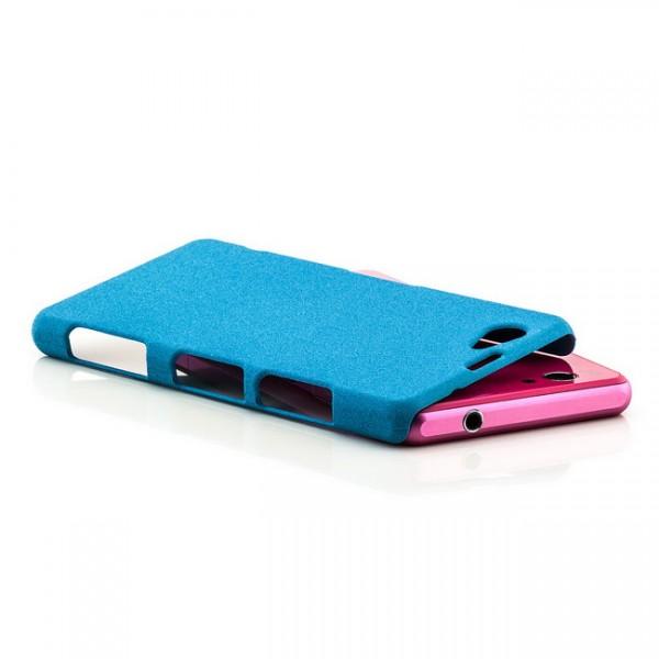 Hard Cover für Sony Xperia Z1 Compact Blau