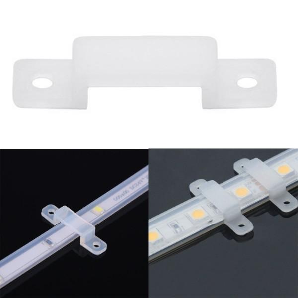 Silikon Befestigung für LED-Streifen 10mm