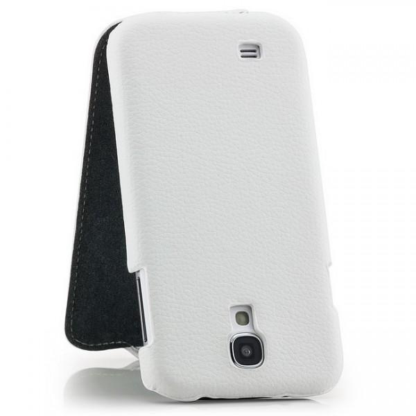 Slim Flip Tasche für Samsung Galaxy S4 Weiß