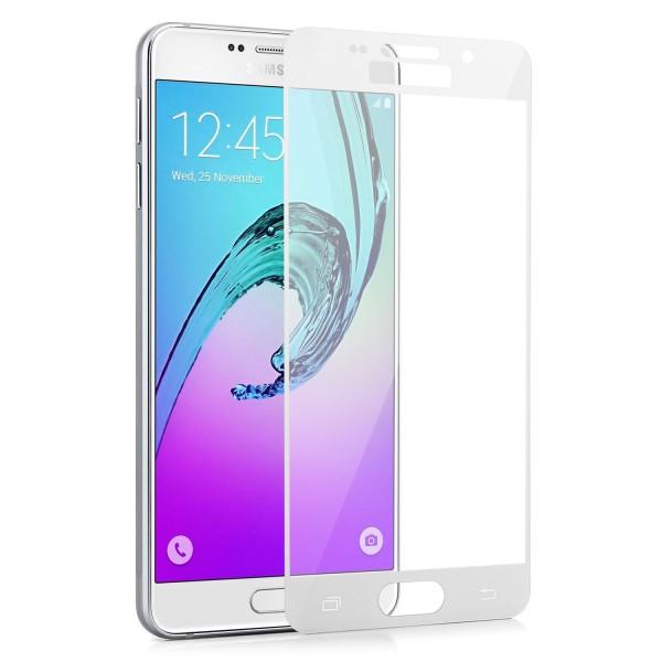 Full Displayschutzglas für Samsung Galaxy A3 (2016) - Weiss