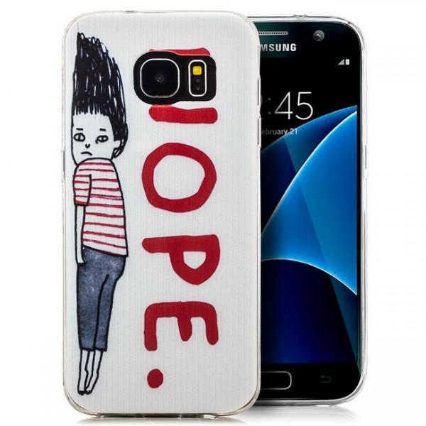 Silikon Motiv Case für Samsung Galaxy S7 - Nope