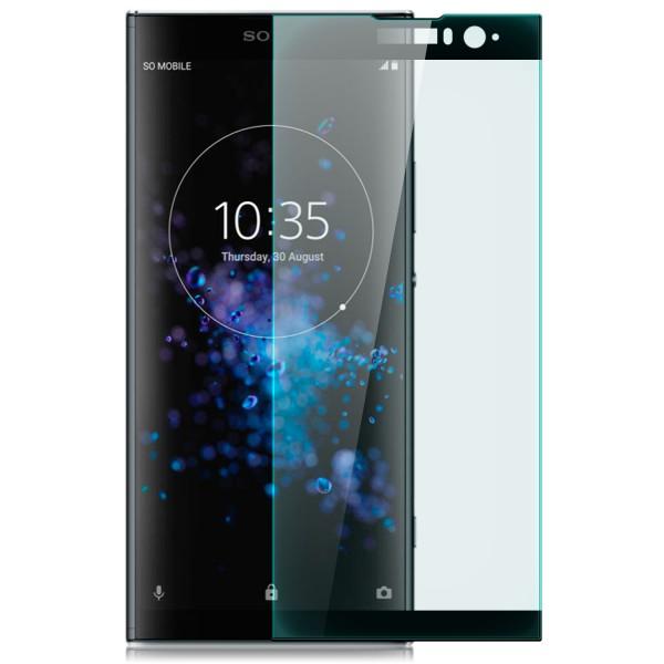 Curved Displayschutzglas für Sony Xperia XA2 Plus - Schwarz