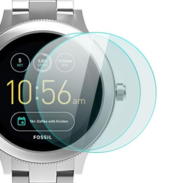 2x Displayschutzglas für Fossil Q Venture 3. Generation