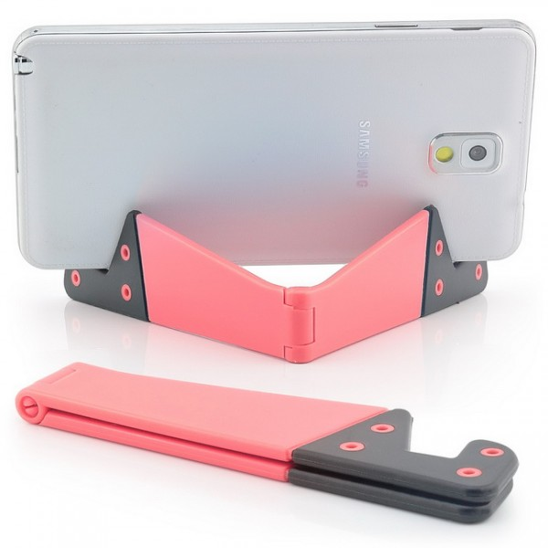 Kleine Halterung für Tablets, Smartphones und E-Book-Reader Orange