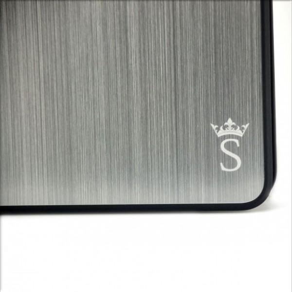 Saxonia Aluminium Case für Apple iPad Mini Silber