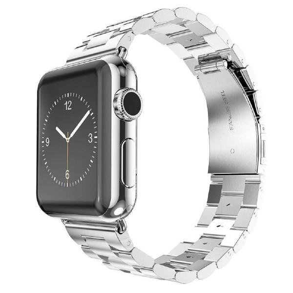 Edelstahl Uhrenarmband für Apple Watch 42mm - Silber (Kettenglieder)