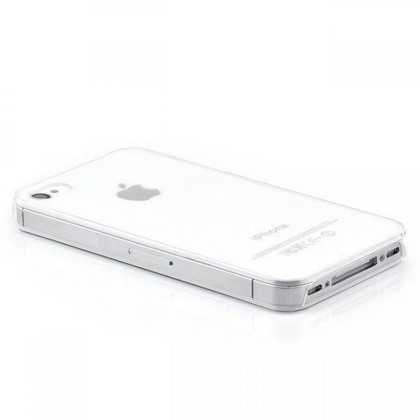 Ultra Slim Back Cover für Apple iPhone 4 & 4S Transparent
