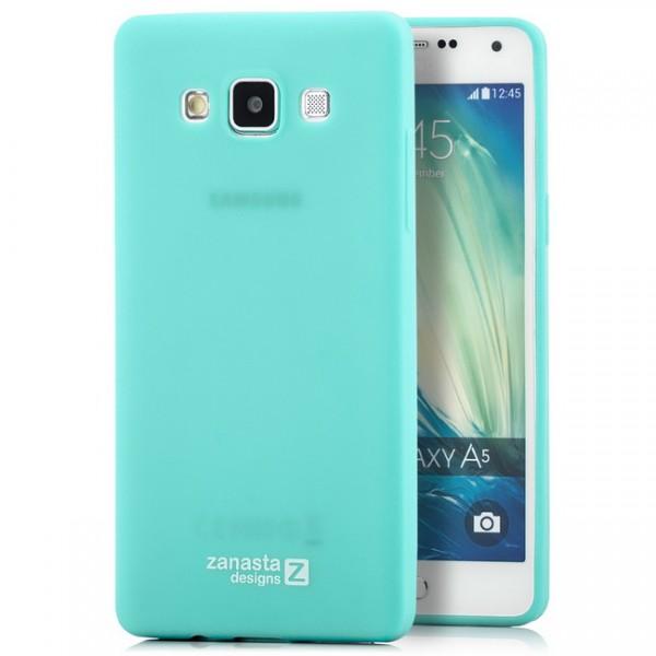 Zanasta Designs Silikon Case für Samsung Galaxy A5 - Hellblau